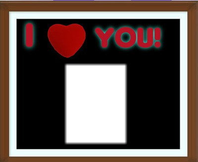 I heart you love 1