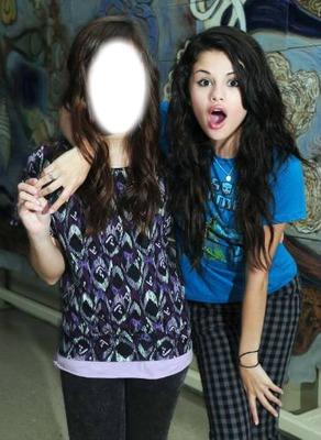 Mi foto con Selena Gomez!