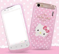 cel hello Kitty