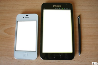 iphone 4s et galaxy note