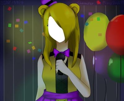 Girl Bear Face