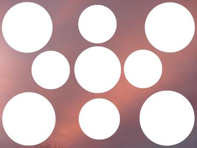 9 cercles