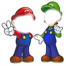 Mario, et Luigi.♥
