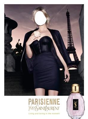 YVES SAINT LAURENT PARISIENNE FRAGRANCE ADVERTISING
