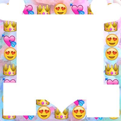 Collage de emojis