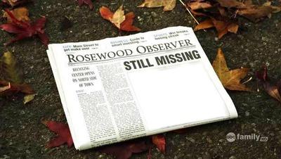 journal de rosewood observer still missing Pretty little liars