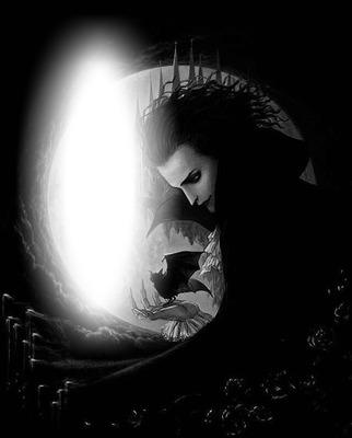 #gothic; #moon, #gothic #mag., #bat