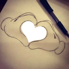 Coeur dans mains