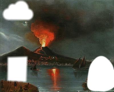 erption volcan