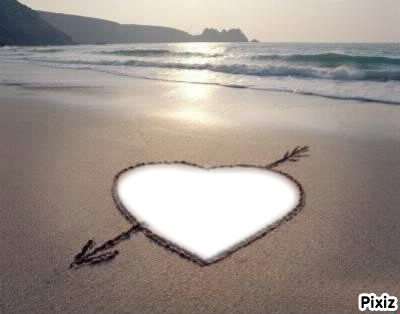 tn amour restera en moi même si les vagues l'efface