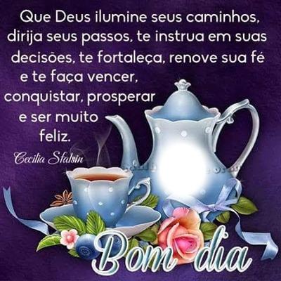 """Bom Dia Com Alegria! By""""Maria Ribeiro"""""""