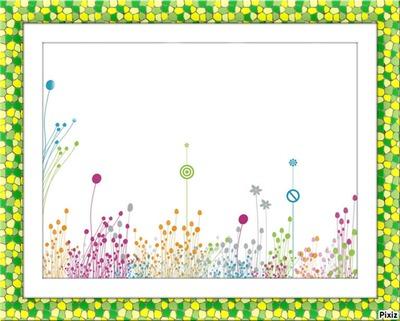 florcitas de colores