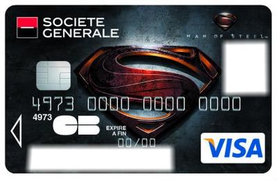 visa superman