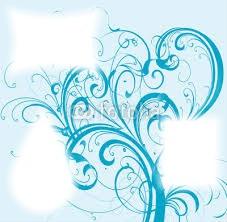 arabesque bleu