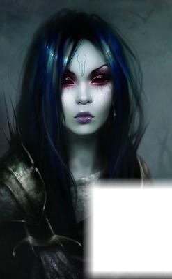 ed0172756 Photo montage Devil Woman (?) - Pixiz