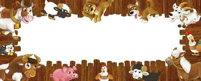 cadre photo animaux de la ferme 1 photo