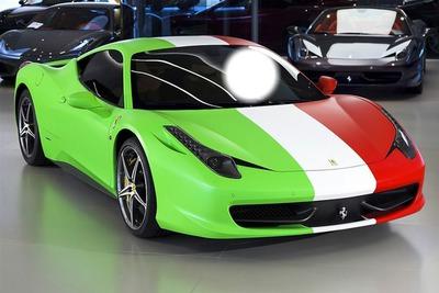 Ferrari Drapeau Italie