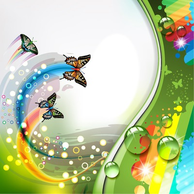 Butterfly meets Rainbow