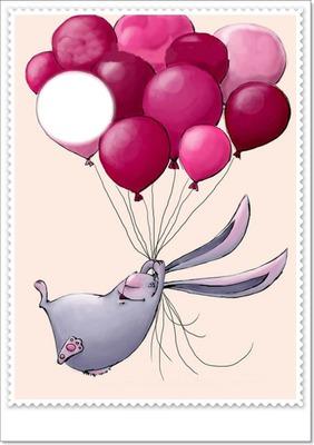 lapin ballons