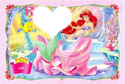 cadre ariel princess