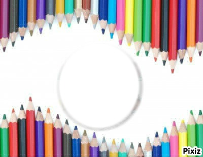 crayons vague