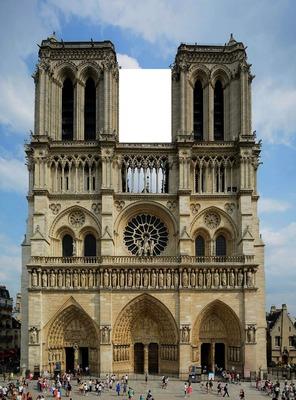 Notre Dame De Paris Disegno.Photo Montage Cathedrale Notre Dame De Paris Pixiz