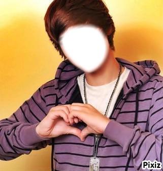 Justin Bieber visage par:Willy Marcel Mihanta