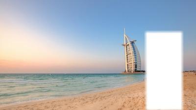 Votre photo en face de la Burj Dubai