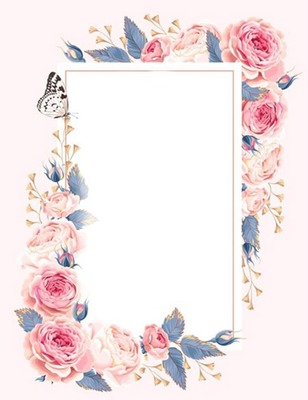Cc entre flores y mariposas