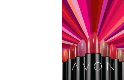Avon Ultra Color Rich Lipstick Advertising