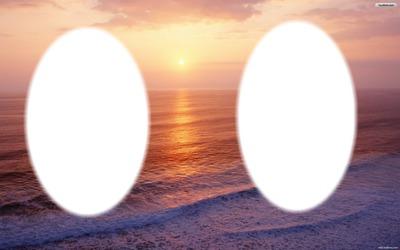 Sunset love frame 2