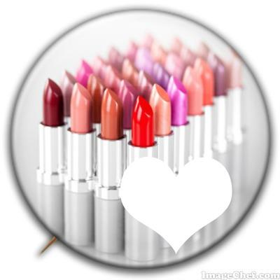 Lipstick Badge