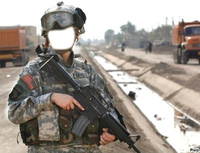 femme militaire
