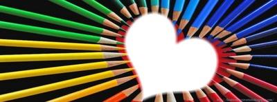 Coeur crayons <3 <3 <3 <Z