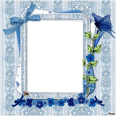 cadre  bleu   gaetana