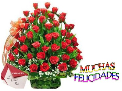 Image result for felicidades flowers