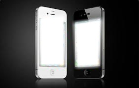 Iphone noir et blanc