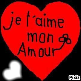Je t'aime Mon Amour <33