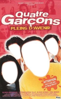 4 garcons