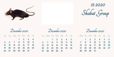 December 2020 // English // 2020 to 2055 Calendar // 2020.02.15