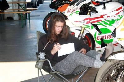 Laura Rodriguez #99 Copa Honda Racing