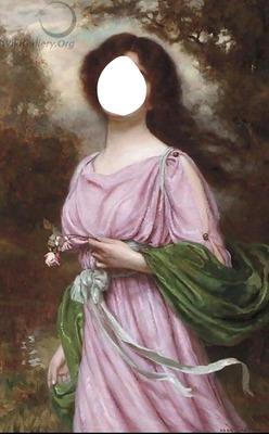 portrait femme inconnu