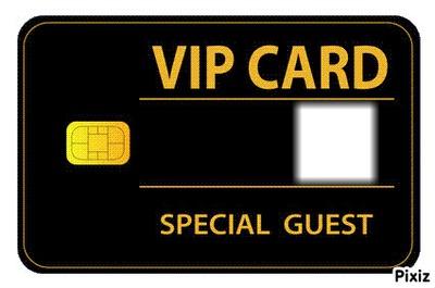 VIP cardss