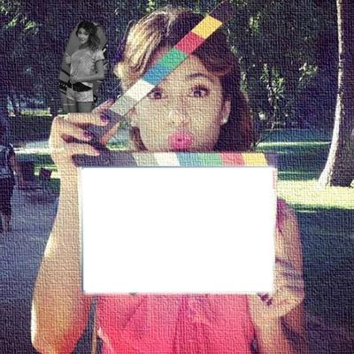 ediciones Annie: pon tu foto con tini