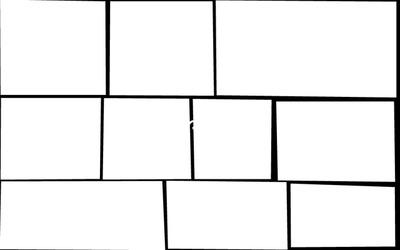 10 cadres carré