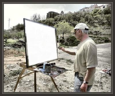 Cc pintor pintando tu retrato
