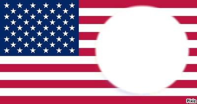 le rond dans le drapeau