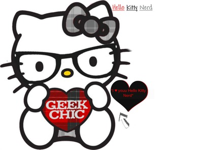 hello kitty geek chic
