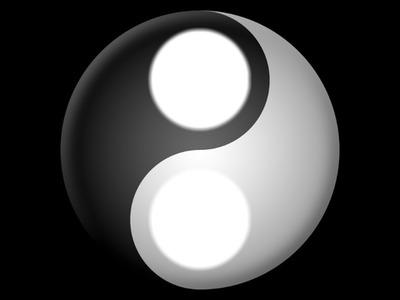ying yang- VS- bien/mal
