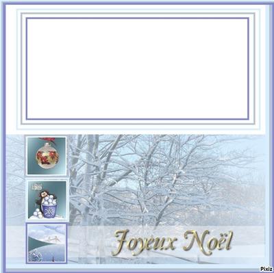 cadre de noel